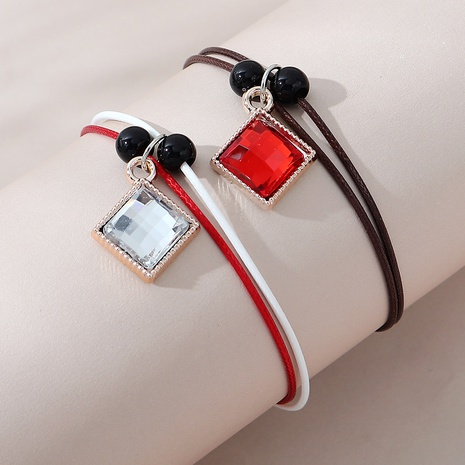 pulsera de pareja creativa salvaje de moda NHPS303215's discount tags