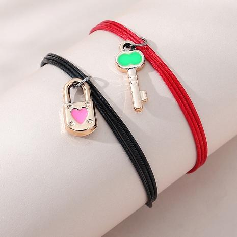 Pulsera de pareja creativa salvaje de moda coreana NHPS303218's discount tags