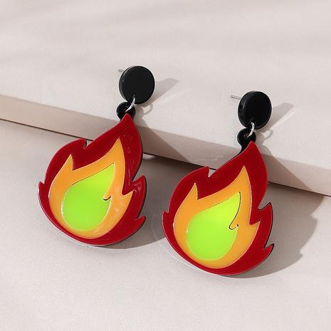 Korean creative fashion resin earrings NHPS303231's discount tags