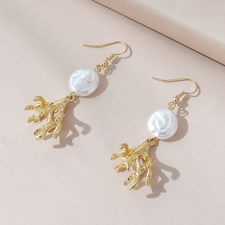 Korean simple fashion wild retro earrings NHPS303239's discount tags