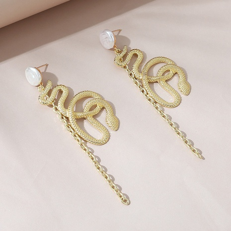 fashion creative exaggerated pearl earrings NHPS303246's discount tags