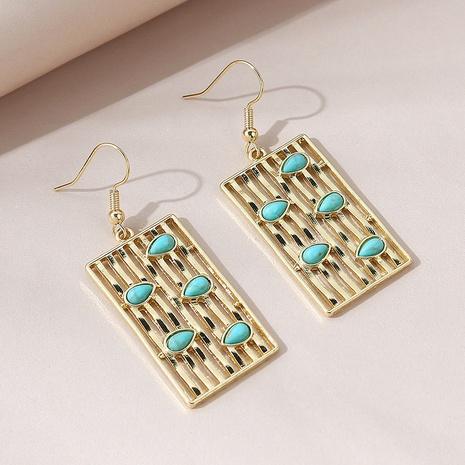 Korean style ethnic style wild creative fashion retro earrings NHPS303250's discount tags