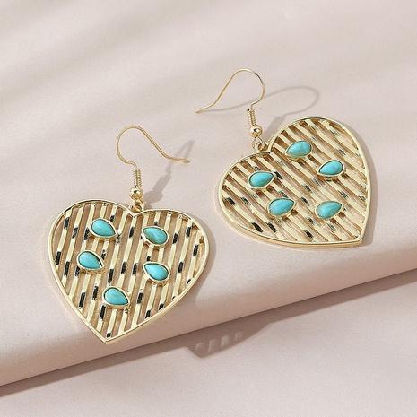 Korean creative retro fashion ethnic style wild earrings NHPS303251's discount tags