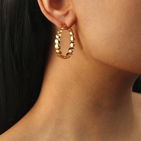 simple circle retro earrings NHIQ303315's discount tags