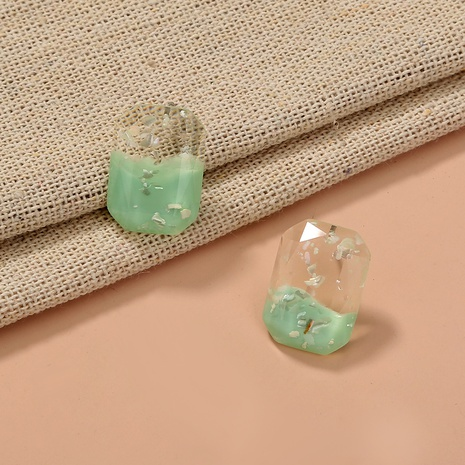 new creative transparent geometric square earrings  NHAN303326's discount tags