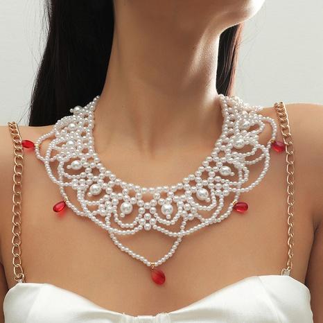 Böhmische Perlenkette NHLA303372's discount tags