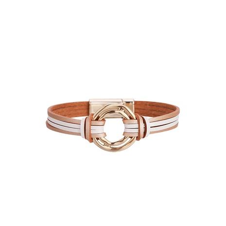 fashion bohemian leather bracelet  NHBD303413's discount tags