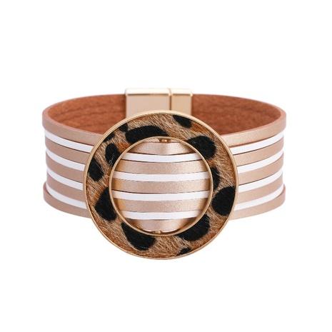Fashion Bohemian Leather Bracelet NHBD303421's discount tags