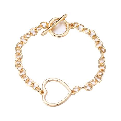punk heart OT buckle fashion bracelet  NHBD303424's discount tags