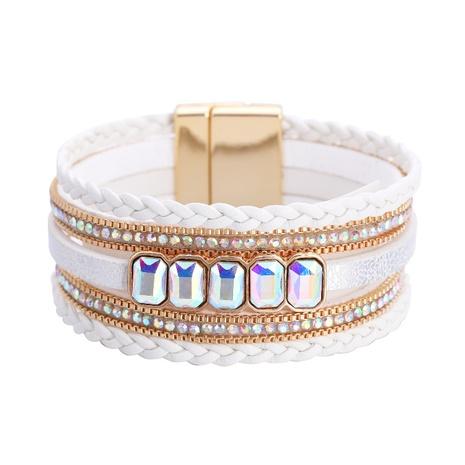 Fashion Bohemian Leather Bracelet Wholesale NHBD303429's discount tags