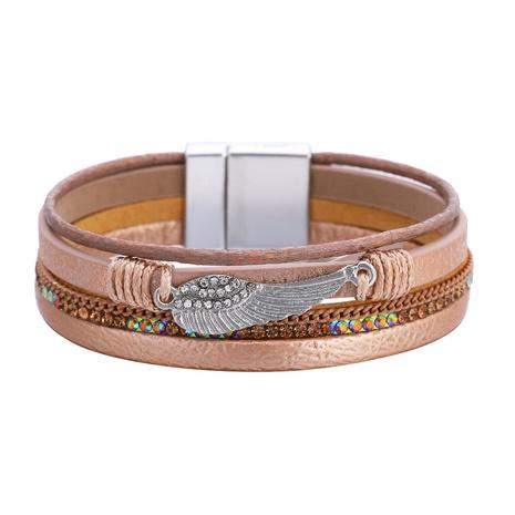 fashion bohemian angel wings retro bracelet  NHBD303440's discount tags