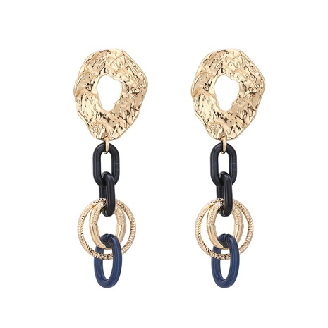 new fashion chain acrylic alloy long earrings  NHBD303443's discount tags