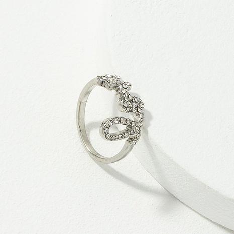 nuevo anillo de moda de aleación de diamantes de amor NHQJ303561's discount tags