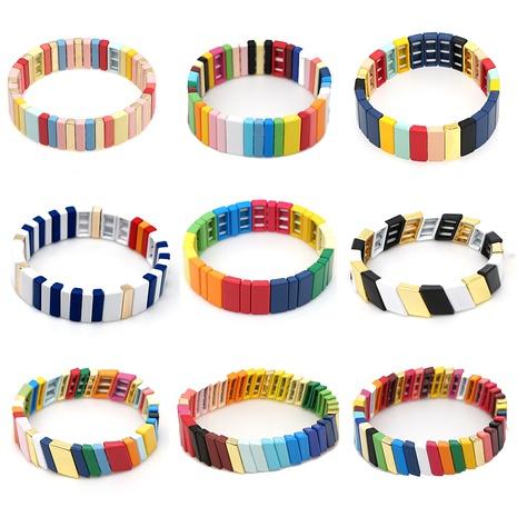 Einfaches gestreiftes wildes Armband des böhmischen ethnischen Stils NHGW303689's discount tags