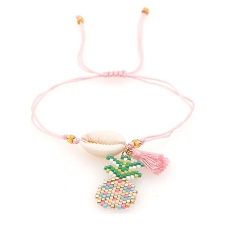 bohemian shell tassel pineapple couple bracelet NHGW303693's discount tags