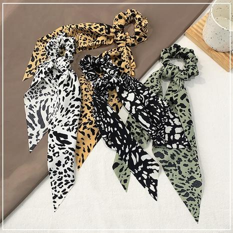 Gomas de pelo simples con estampado de leopardo NHOF303700's discount tags