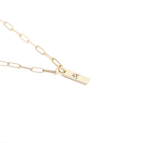 hip-hop English letter pendant necklace NHYL303864's discount tags