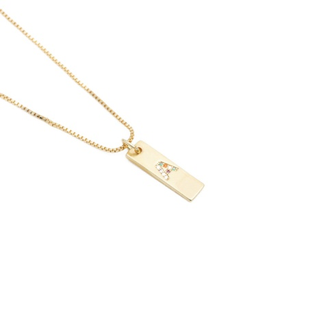 Fashionable English letter pendant necklace NHYL303880's discount tags
