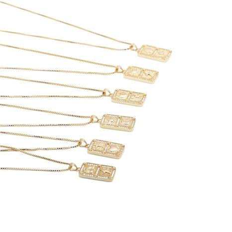 moda arco iris estrellas relámpago cruz colgante collar NHYL303884's discount tags