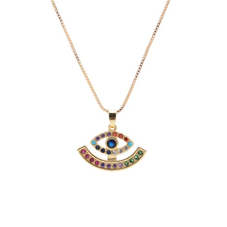 Devil's Eyes Pendant Necklace  NHYL303918's discount tags