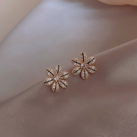 Fashion petal simple earrings NHXI303941's discount tags