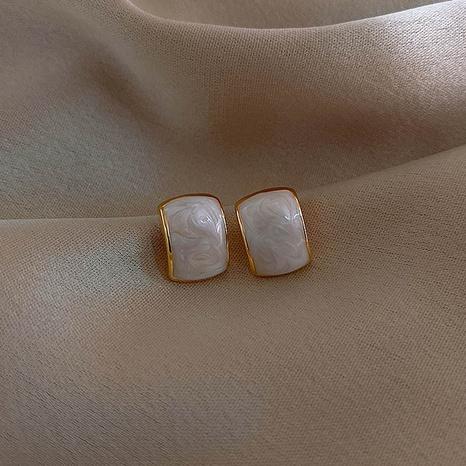 Korean retro geometric earrings NHXI303943's discount tags