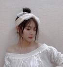 Koreanische neue Stricknetz Garn Schleife Knoten Stirnband NHAR303982