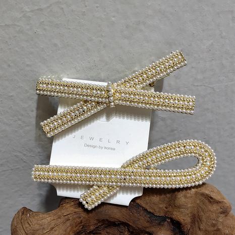 Clip dulce de perlas de moda de Corea NHAR303993's discount tags