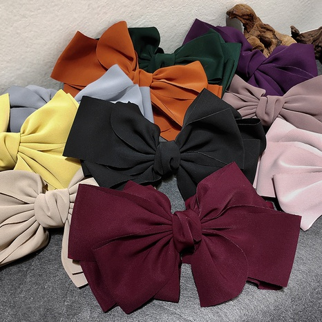 Clip de lazo grande de moda de Corea NHAR304010's discount tags