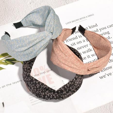 fashion retro floral headband  NHAQ304025's discount tags