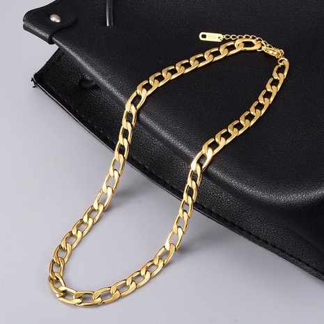 wholesale golden necklace NHAB304050's discount tags