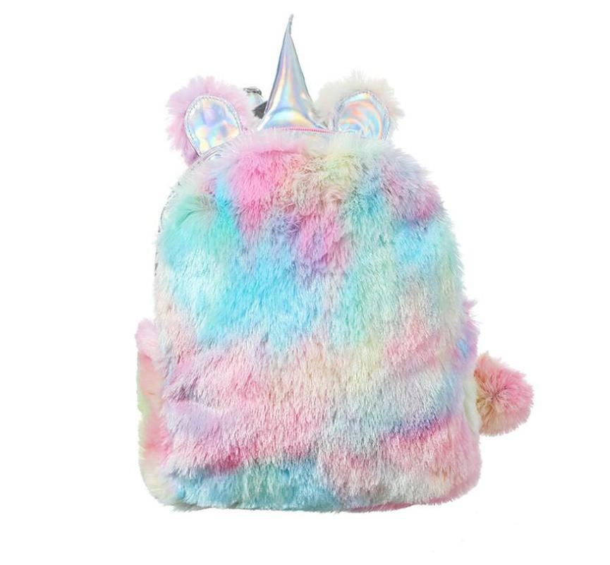 cute new plush unicorn backpack NHGO304128