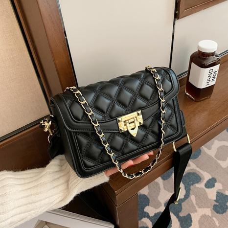 bolso de mensajero de un hombro de moda de hilo de bordar NHTG304316's discount tags