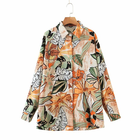 fashion abstract shirt design color lapel shirt NHAM304594's discount tags