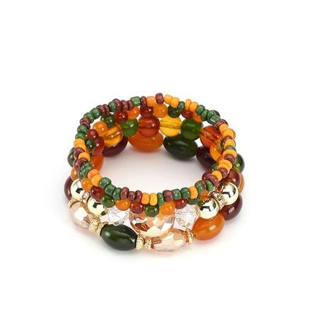 bohemian bead ethnic crystal bracelet NHBD304632's discount tags