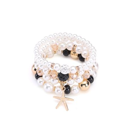 New simple multiple retro elastic bohemian bracelet NHBD304650's discount tags