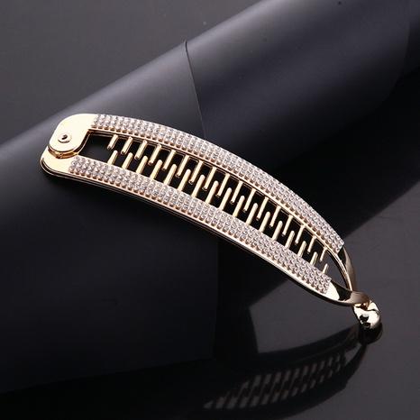 Korean rhinestones ponytail hairpins NHBE304692's discount tags