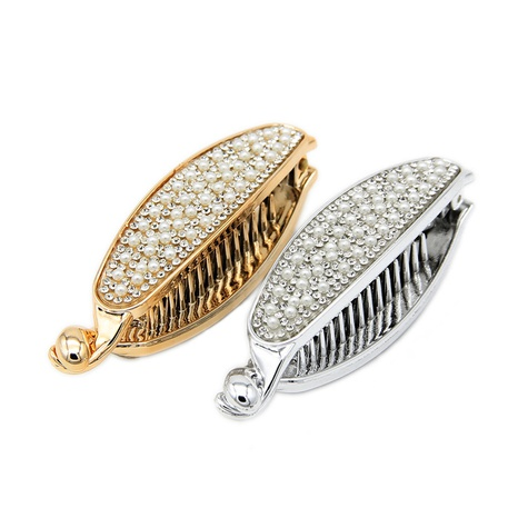 Korean full diamond toothed hairpin NHBE304707's discount tags