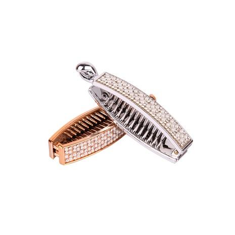 Korean teeth pearl hairpin  NHBE304711's discount tags