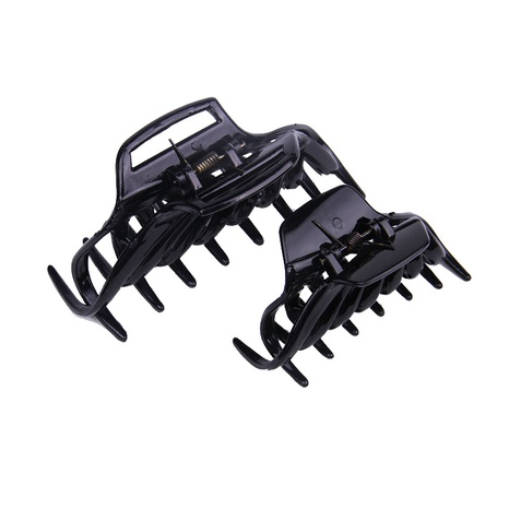 black plastic hair catch clip  NHBE304735's discount tags