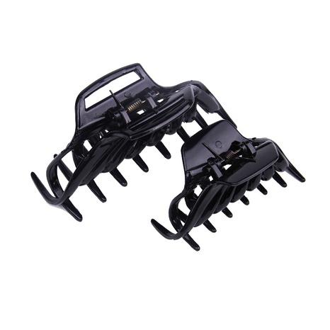 pince à cheveux en plastique noir NHBE304735's discount tags