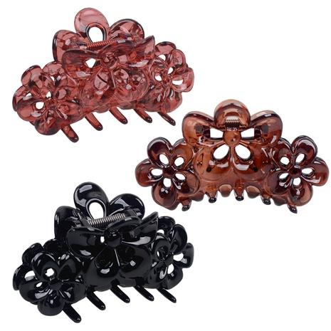 fashion simple flower catch hair clip NHBI304797's discount tags