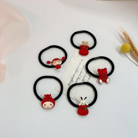 corde à cheveux motif dessin animé mignon NHWF304841's discount tags