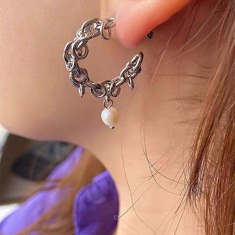 retro pearl chain earrings  NHYQ304868's discount tags