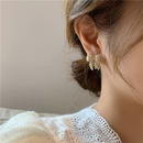 exquisite pearl bow earrings  NHYQ304887
