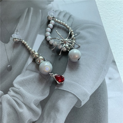 Retro Spinne leuchtende Perlen Ohrringe NHYQ304898's discount tags