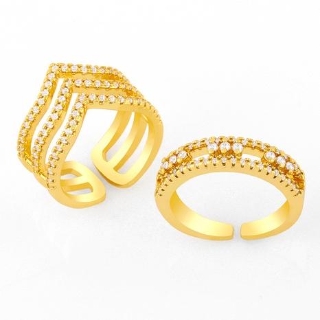 new geometric diamond opening ring NHAS304926's discount tags
