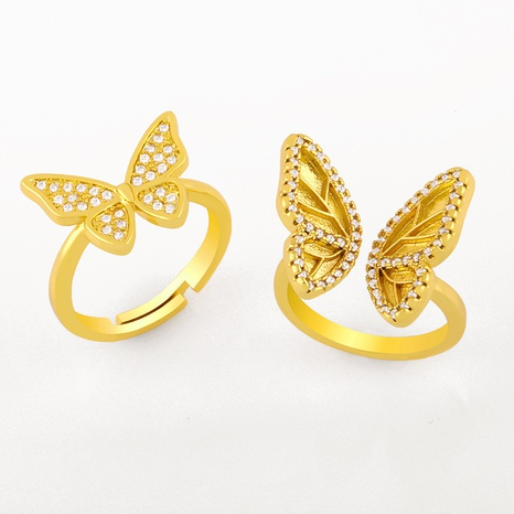 fashion butterfly ring  NHAS304928's discount tags