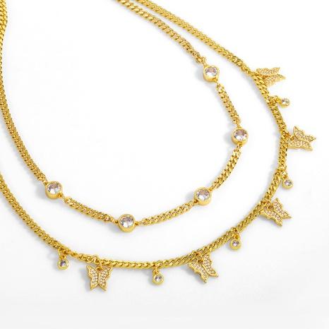 collar de diamantes con múltiples mariposas NHAS304931's discount tags