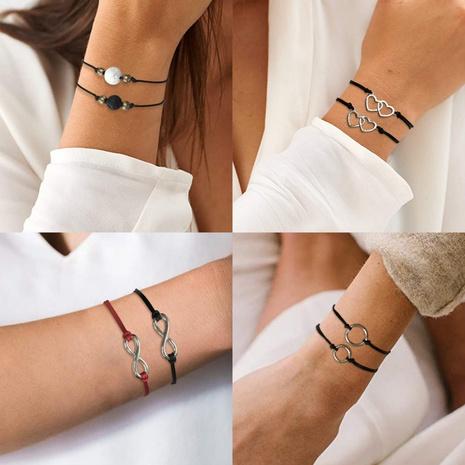 Simple Hand-woven Geometric Creative Bracelet  NHMD304941's discount tags